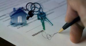 contrat avec une agence immobiliere