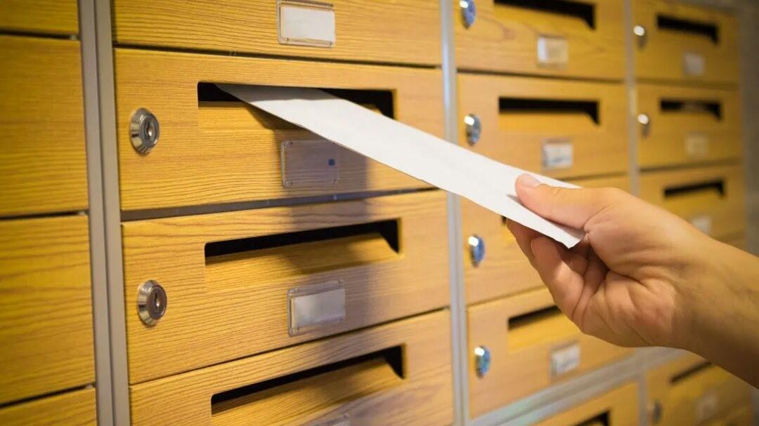 boite de courrier