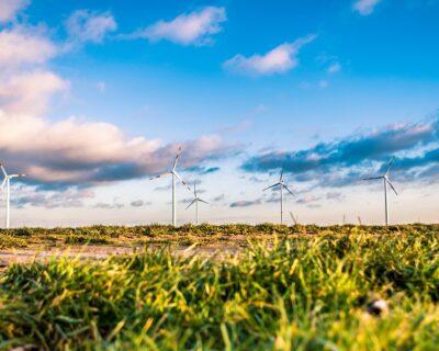 Un bien immobilier qui fournit sa propre énergie verte